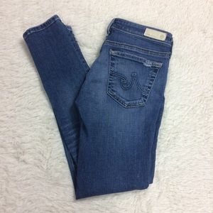 AG Adriano Goldschmied Legging Ankle Jeans Sz 26